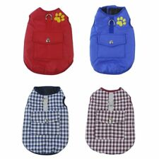 Thickened Dog Jacket Comfortable Cotton Dog Coat Autumn Winter Puppy Clothes SM