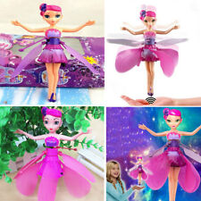 New Flying Fairy Flutterbye Flower Fairy Doll Girls Interactive Toy Perfect K