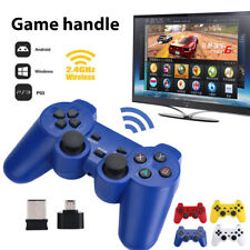 2.4GHz Wireless Dual Joystick Control Game Controller For PS3 PC TV Box AU!