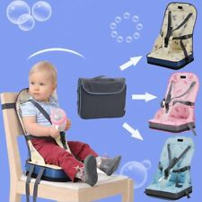 Foldable Portable Baby Toddler Infant Dining Chair Booster Seat Bag Travel Cha S