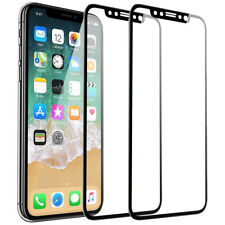 For Apple iPhone X Screen Protector[2~12pack]Tempered Glass 3D Full Coverage lot