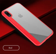 For iPhone X 8 8Plus 3D Transparent Soft TPU Silicon Shell Capa Back Co