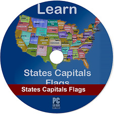 Learn United States of America Map Puzzles Quiz History (Orig) (PC Game)