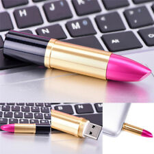 Creative Lipstick UDish USB2.0 Flash Memory Stick Pen Drive Disk For Computer*-*