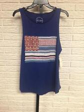 NEW Lucky misses TANK TOP stretch USA flag red white blue sz XL NWT $49.50 #C82