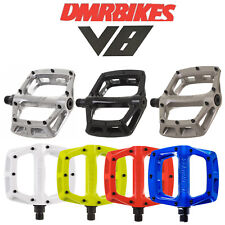 New Upgraded DMR V8 Lightweight Flat Platform Bike Pedals - 9/16""