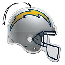 Auto Air Freshener NFL San Diego Chargers 3-Pack Football Helmet Vanilla Scent