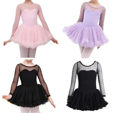Girl Princess Kid Ballet Tutu Gymnastics Leotard Skirt Dance Dress Party Costume