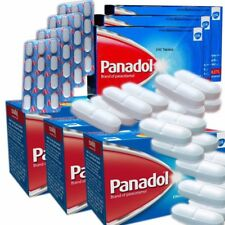 Panadol 500mg  240 Tablets Pain Killer Headache Fever Cold  Toothache