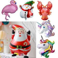Christmas Santa Unicorn Aluminum Foil Balloon Birthday Wedding Party Xmas Decor