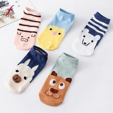 1 Pairs Women Cotton Sock Comfortable Cartoon Cute Slippers Short Ankle Socks