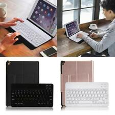 Bluetooth Wireless Keyboard PU Leather Case Cover Stand for ipad 9.7'' 2017