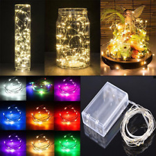 Battery Warm White Xmas Garden Party Wedding String Fairy Lights Chirstmas Tree