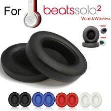2 Replacement Ear Pads Cushion For Beats by Dr Dre Solo 2 Wireles/Wire Headphone