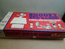 VINTAGE 1970 MILTON BRADLEY SNOOPY RED BARON BOARD GAME REPLACEMENT PIECES PARTS