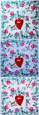 Armando Caruso Design Handkerchief Hanky Flowers And Birds