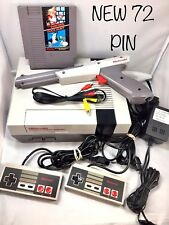*Refurbished* Original NES Nintendo System Console - New 72 Pin - Choose Bundle