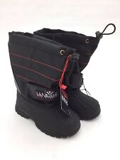 LaNeige Canada: Waterproof Youth Winter Boots - Boys & Girls, Black & Pink