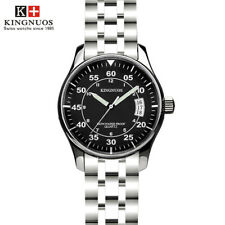 Fashion Brand Mens Date Waterproof Watch Steel Quartz Male Business Wristwatch