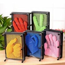 3D Pin Art Board Plastic Pin Sculpture Board Office Home Decor Educational Toy S