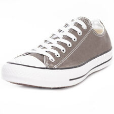 Converse All Star Lo Top Unisex Grey Canvas Casual Trainers Lace-up New Style