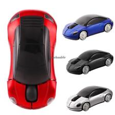 USB Car Shape Wireless Optical Mouse Color Changing Home Office A++