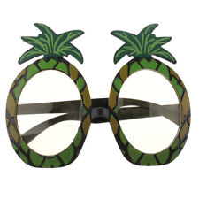 Novelty Tropical Pineapple Sunglasses Hawaiian Beach Party Glasses Fruit Theme