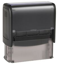 Rubber Stamp Self-Inking Trodat Imprint up to 8 Lines with custom text/ Logo