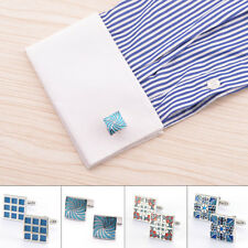 Party Cufflinks Steel Cuff Links Wedding Square Gift Mens