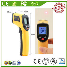 Non-Contact -50 ~ 380℃ LCD IR Laser Infrared Digital Temperature Meter FreeShip