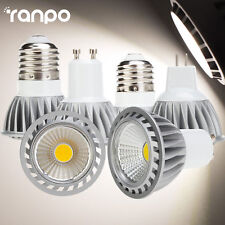 Dimmable LED COB Spotlight Bulbs MR16 GU10 E27 15W Ultra Bright CREE Lamps 220V