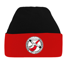 HAILSHAM HARRIERS CLUB SHOP. WOOLLY HAT. ADULTS {£6.99} AND CHILDREN (£6.30).
