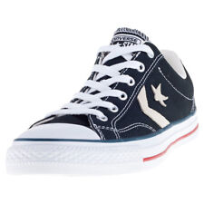 Converse Star Player Ox Mens Black Canvas Casual Trainers Lace-up New Style