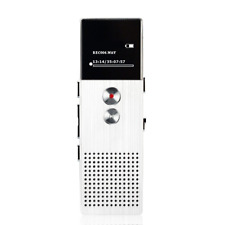 Metal Audio Recorder Voice Tracker 8GB Portable Business Digital Voice Mp3Player