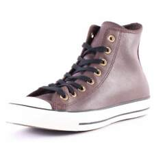 Converse Chuck Taylor All Star Hi Top Mens Trainers Brown White Branded Footwear