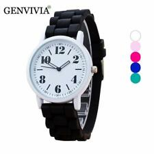 Geneva Fashion Silicone Quartz Wrist Watch