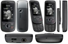 Nokia 2220 Slide Graphite Unlocked Camera easy to use Mobile Phone New Condition