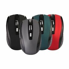 2.4GHZ Wireless Mouse Matte Cordless Optical Scroll Mice USB Laptop Notebook