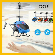 Mini Flying RC Infraed Induction Helicopter Aircraft Flashing Light Toys Kid Toy