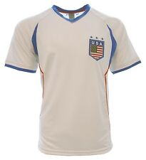 United States fan Men Jersey Official Licensed Rhinox White