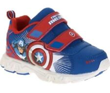 Captain America Marvel Toddler Boys' Athletic Sneakers/Shoes: 8-12