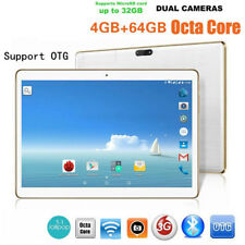 Hot 10.1'' Tablet PC Android 6.0 Quad Core 64GB 10 Inch HD WIFI 2 SIM 4G Phablet