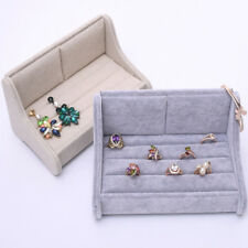 Jewelry Display Sofa Shaped Tray Show Case Organizer Box for Rings Earrings