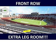 2 LOS ANGELES CHARGERS @ vs LA RAMS 9/23 UPPER SIDELINE FRONT ROW EXTRA LEGROOM!