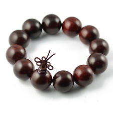 Fashion Natural Red Rosewood Buddha Beads Prayer Bracelet 12 to 30mm for Gift