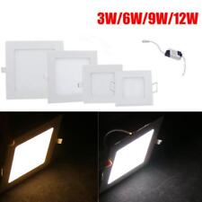 Recessed Ceiling Square Fluorescent Dimmable Lamp 3W 6W 9W 12W Recessed Lighting