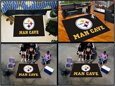 Pittsburgh Steelers Man Cave Rug FANMATS NFL