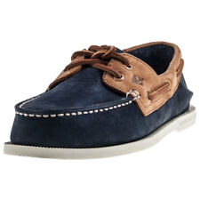 Sperry Ao 2-eyelet Washable Mens Boat Shoes Navy Tan New Shoes