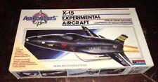 1987 X-15 Experimental Aircraft 1:72 Scale Model Kit By Monogram - For Parts