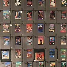 Nintendo NES Game Cartridges 2- All Games Original and Tested